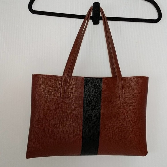 VINCE CAMUTO NEW Brown Pebble Tote